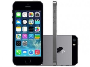 iphone 5s1 300x225 - iPhone 5S 16GB Cinza Espacial Desbloqueado Apple - iOS7, Câmera 8MP, Tela de 4, 3G/4G, Wi-Fi, GPS e MP3 - R$ 1.979,10