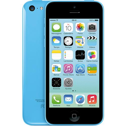 iphone5c azul - iPhone 5C 8GB Azul Desbloqueado - R$ 1.199,00