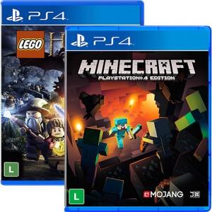 minercraftehobbitlego 300x300 - Game Minecraft + Game Lego Hobbit - PS4