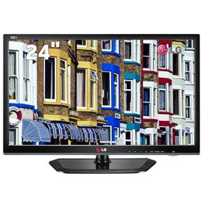 "tvmonitorlgled - TV Monitor LED 24"" HD LG 24MN33N-PC - R$432,81"