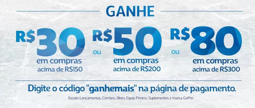 Untitled 4 - Netshoes - Cupom Ganhe Mais - R$30 R$50 e R$80 de Desconto!