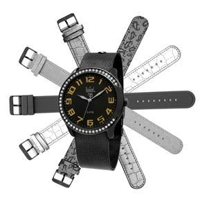 e39dd8aed44 Relógio Feminino Analógico Dumont Troca Pulseira com 6 Pulseiras - R ...