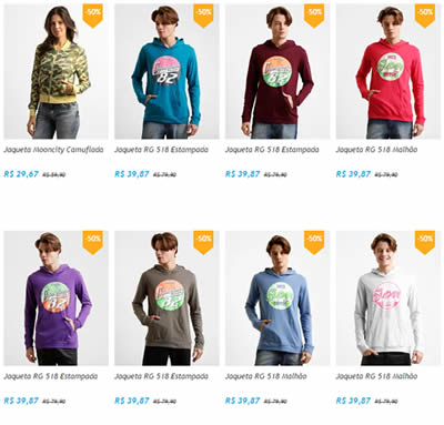 jaquetas blusas2 - Netshoes - Jaquetas e Casacos a partir de R$ 29,67
