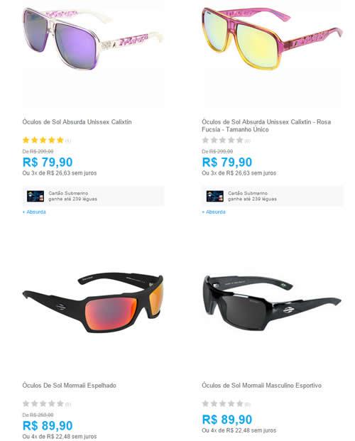 oculosmormaiiabsurda - Promoção de Óculos de Sol Mormaii e Absurda - A  partir de R  bbcde002c2