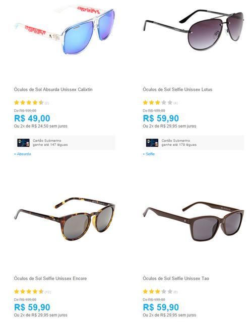 oculos - Submarino - Saldão de Óculos de Sol - a partir de R  25 0d94a4a74b