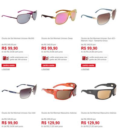 oculosmormaii - Promoção de Óculos de Sol Mormaii - a partir de R  99, 55471f97f7