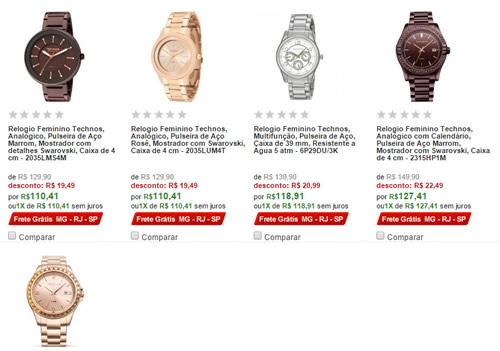 f744bcf492 relogios femininos - Mega Promoção de Relógios Femininos - A partir de R   59
