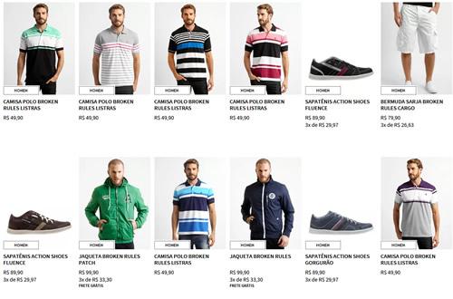 camisetas - Zattini - R$ 50 de desconto nas compras acima de R$ 220 - Cupom: OUSEMAIS