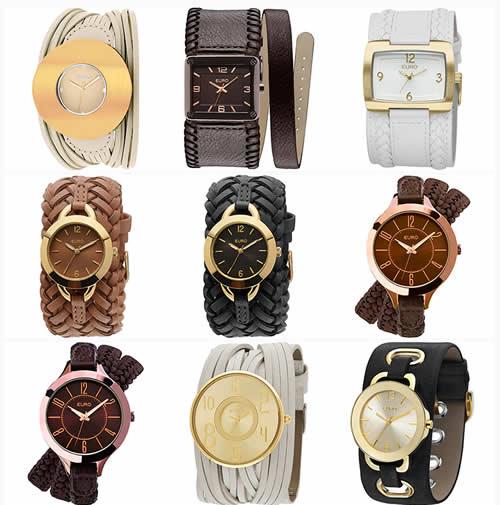 relogioseuro - Relógio Feminino Euro Analógico Fashion a partir de R$ 44,90