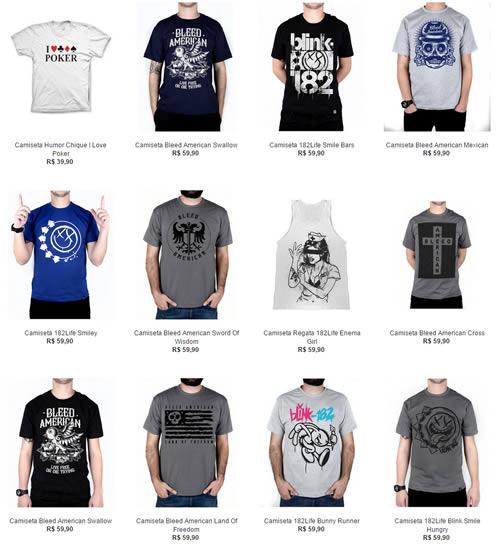 5 Camisetas por R  109 be99e87ad53cf