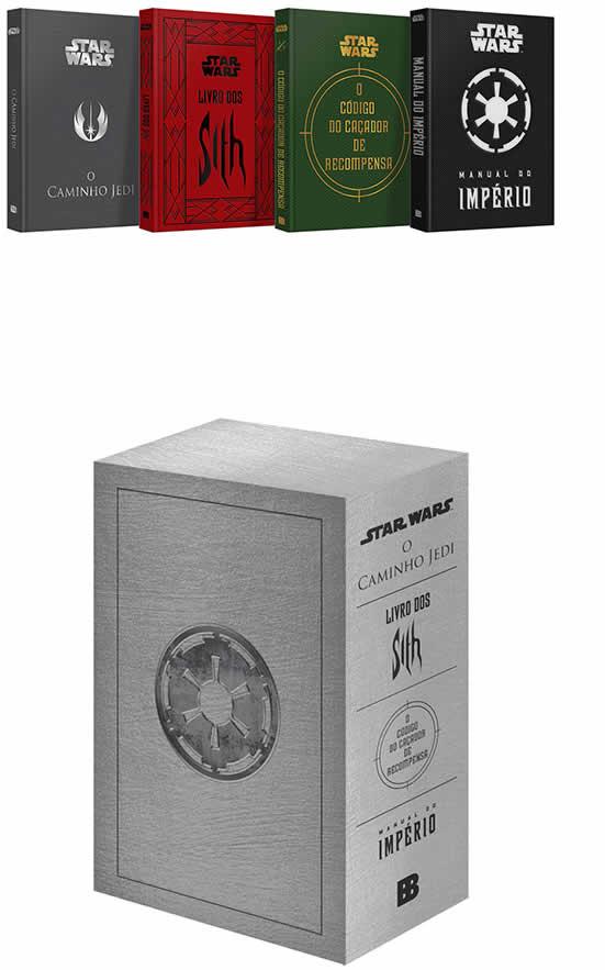 book livros starwars - Livro - Box Star Wars (4 Volumes) - R$79,00