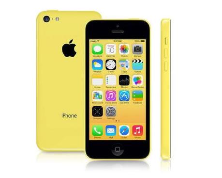 iphone5c - Apple iPhone 5c 8GB Amarelo Desbloqueado, iOS 8, 3G/4G, Câmera 8.0MP, Wi-Fi, GPS - R$ 999,90