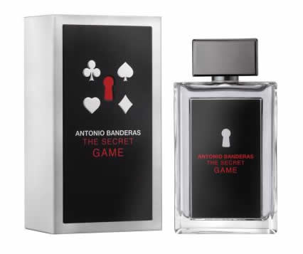 antoniobandeiras - Perfume Antonio Banderas The Secret Game Eau de Toilette 100ml R$ 49,90