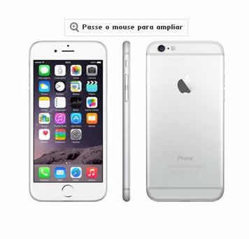 "iphone6 - iPhone 6 Plus Apple com Tela 5,5"", iOS 8 - Preteado - 10x de R$ 297,42 sem juros"