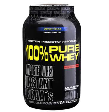 probiotica whey protein - 100% Pure Whey Protein 900G - Probiótica - R$71,81 no Boleto