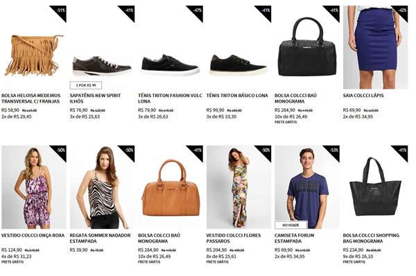 produtos1 - Outlet Zattini - Top Marcas com Descontos de até 60%