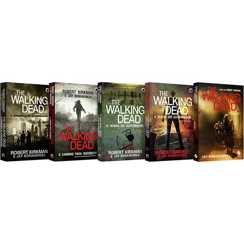 122758792 2GG - Livro - Box The Walking Dead (5 Volumes) + Brinde - R$ 62,91