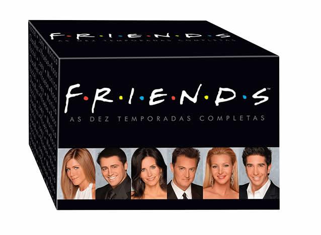 boxfriends - Friends - As Dez Temporadas Completas (40 DVDs) - R$ 152,91