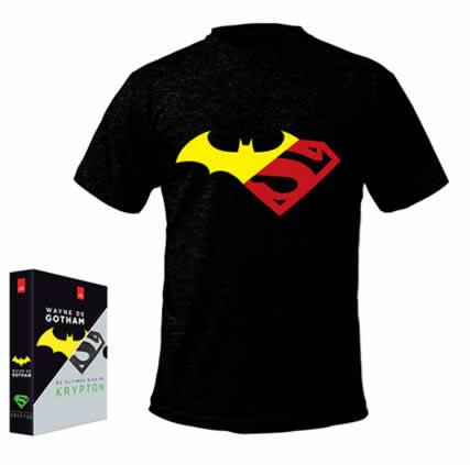 camisetalivrogotham - Livro - Box - Wayne de Gotham, Os Últimos Dias de Krypton [2 Livros com Camiseta Exclusiva] - R$17,91