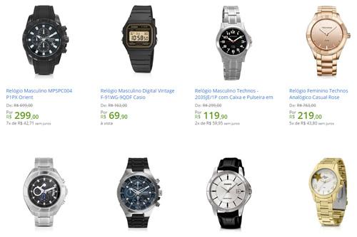 b6c33acffc1 masculino relogio - Walmart - Saldão de Relógios - Diversas Marcas