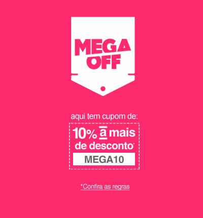 megaoff2 - Lojas Americanas - Cupom de 10% de Desconto 55ab2b370a