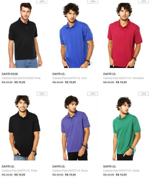 polos - Camisas Polo com até 50% OFF (Forum e Colcci) - A a200bb45c9485