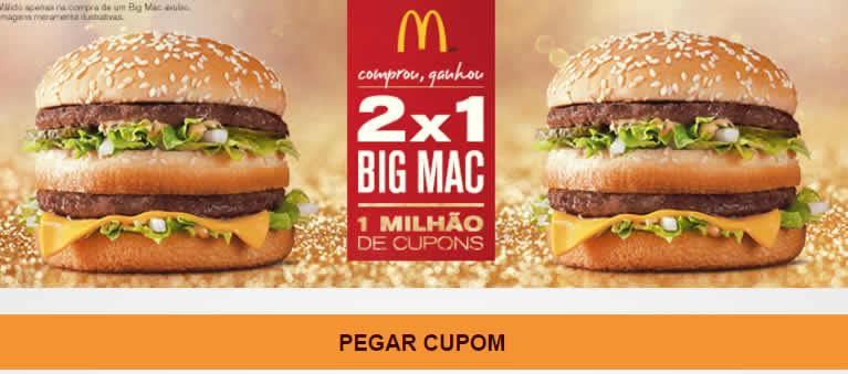a45507122cc8f r2 c2 - Compre 1 Big Mac e Ganhe Outro - Promoção 2x1 - McDonalds