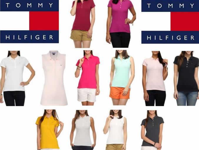 fcf2842490a8f Camisa Polo Feminina Tommy Hilfiger - 11 Modelos - R  89