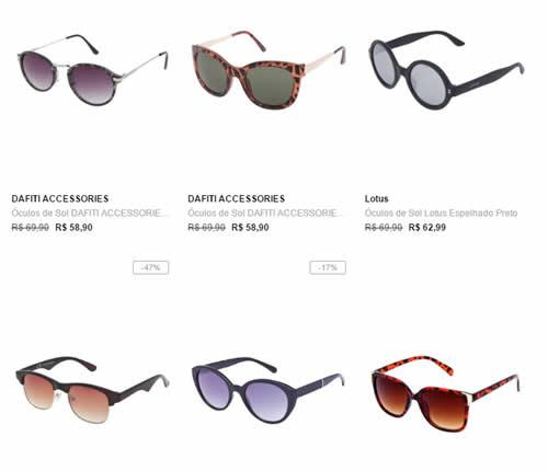 3oculosdesol - 3 Óculos de Sol Por R$ 99,00 - Escolha os seus