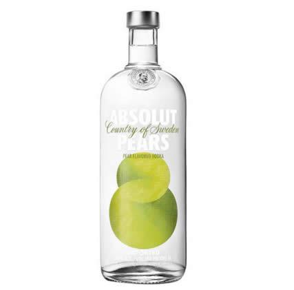 absolut pears - Vodka Sueca Absolut Pears 1000ml - R$69,90