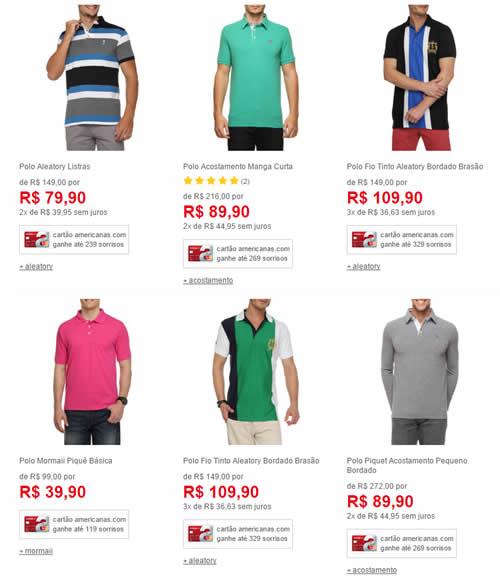 8002ada60e camisas polo - Camisetas Polo a partir de R  35