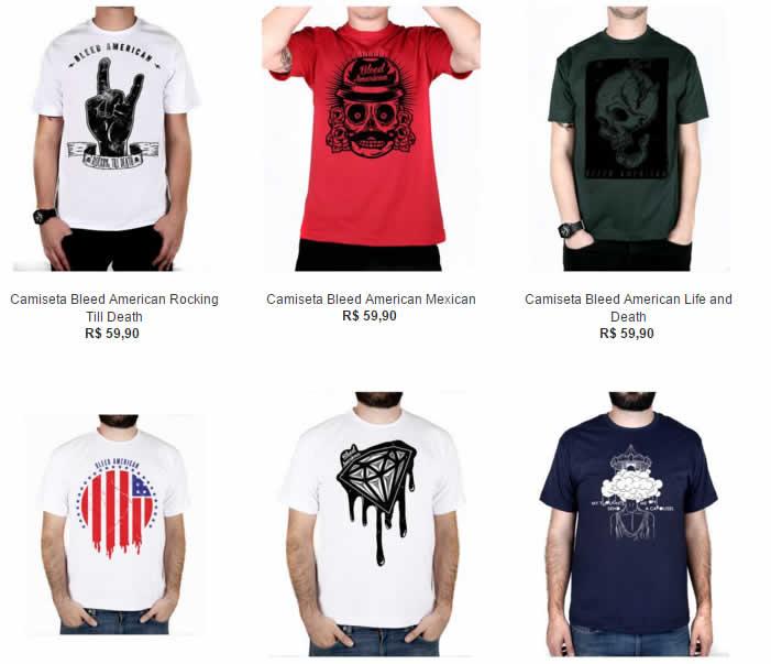 Kanui - 5 Camisetas por R$ 109,90 - Diversos Modelos