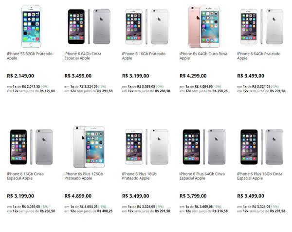 iphones - Saraiva - Toda Linha de iPhone com 10% OFF