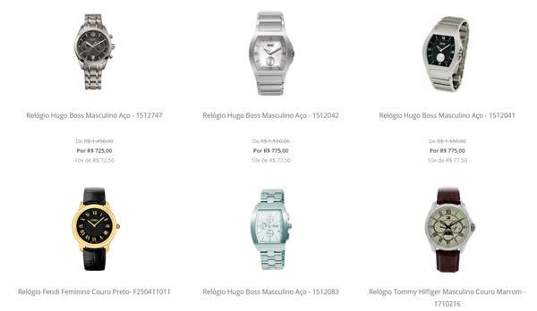 relogio - Seleção de Relógios Premium com até 50% OFF - Lacoste, Ferrari, Hugo Boss, Tommy Hilfiger