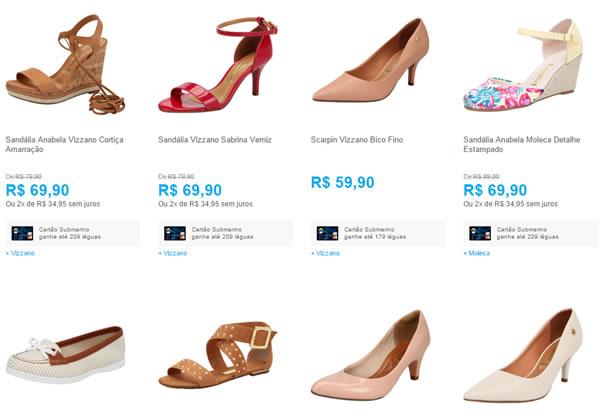 854c75a1e4 3 Sapatos Femininos por R  150
