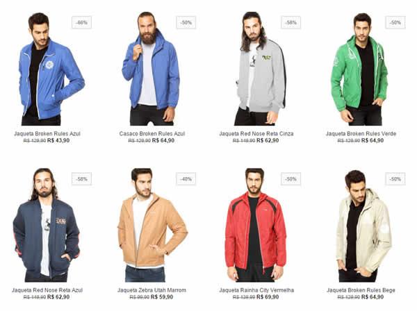 jaqueta - Jaquetas e Moletons com até 60% OFF - A partir de R$ 43,90