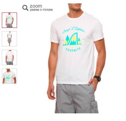 levis camiseta - Camiseta Levi's Estampa Capitan - Branco - R$ 49,90