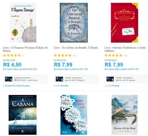 livros 1 - Mais de 1000 livros por no Máximo R$ 9,90 Cada