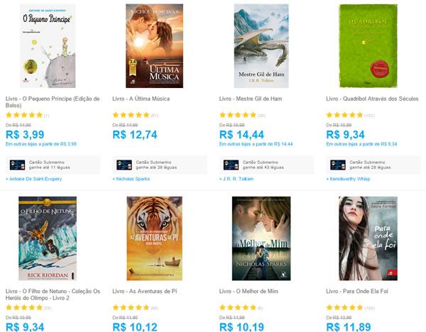 livros - 3 Livros da Lista por apenas R$ 30,00