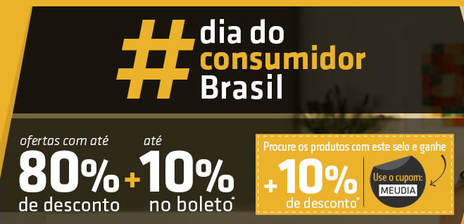 meudia - Dia do Consumidor Shoptime Cupom 10% OFF