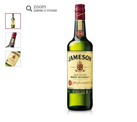 whisky jameson - Whisky Jameson 1 Litro - R$ 79,90