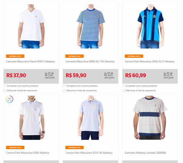 aleatory - Aleatory - Camisetas, Polos e Suéter a partir de R$ 37,90