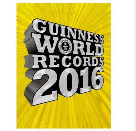 guiness - Livro - Guinness World Records 2016 - R$19,90