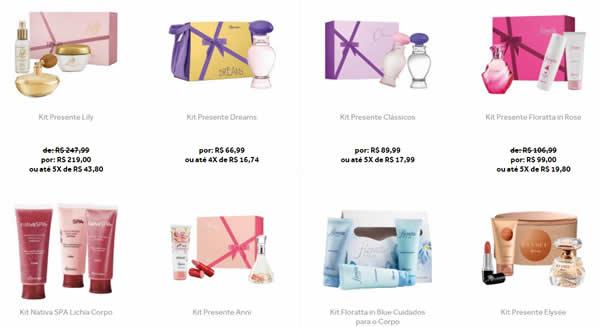 kit - Dia das Mães - Cupom de 10% em Kits no O Boticário