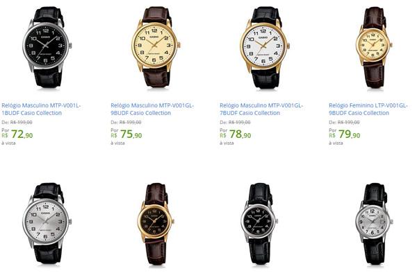 3246f526844 Relógios Masculinos Casio por menos de R  80