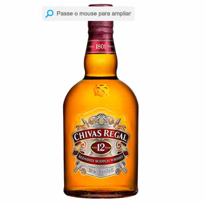 chivas - Whisky Chivas Regal 12 Anos - 1L - R$ 107,91