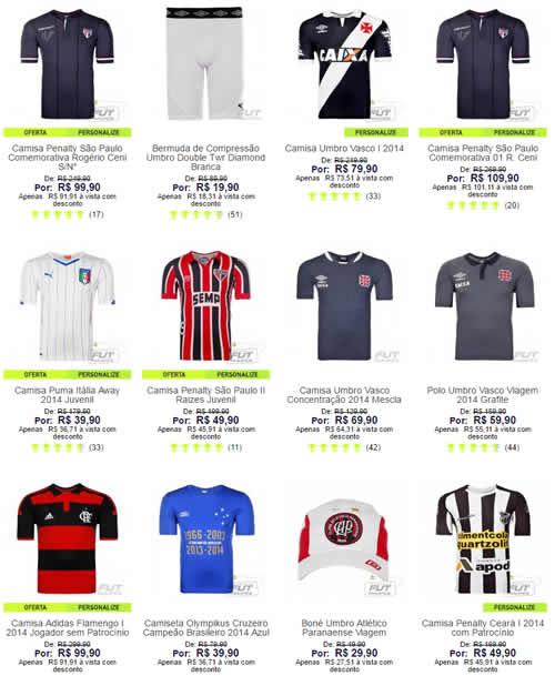 73217e54b camisetas - Futfanatics - Cupom 12% OFF - Zera Estoque