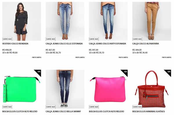 0002dcf8af roupas - Zattini - Ganhe R  100 OFF nas Compras Acima de R  200