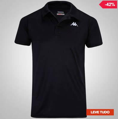 kappa polo - Camisa Polo Kappa Sewill - Masculina - R  39 72131b40bbe55