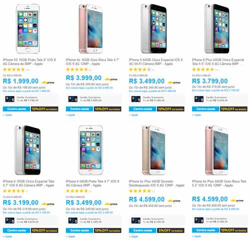 smartphone - Submarino - Cupom 10% OFF em Smartphones
